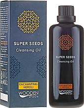 Parfémy, Parfumerie, kosmetika Čisticí olej - Wooden Spoon Super Seeds Enchanting Neroli Cleansing Oil