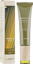 Parfémy, Parfumerie, kosmetika Oční krém s extraktem z kořene novozélandského lnu - The Saem Urban Eco Harakeke Root Eye Cream Tube Type