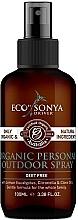 Parfémy, Parfumerie, kosmetika Tělový sprej - Eco by Sonya Citronella Personal Outdoor Spray