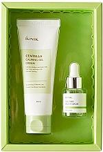 Parfémy, Parfumerie, kosmetika Sada - iUNIK Centella Edition Skincare Set (cr/60ml + ser/15ml)