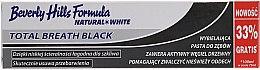 Parfémy, Parfumerie, kosmetika Zubní pasta - Beverly Hills Formula Natural White Total Breath Black