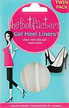Parfémy, Parfumerie, kosmetika Gelové poštářky na nohy - The Foot Factory Gel Heel Liner Twin Pack