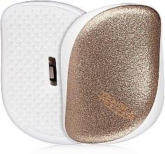 Parfémy, Parfumerie, kosmetika Kompaktní kartáč na vlasy - Tangle Teezer Compact Styler Glitter Gold