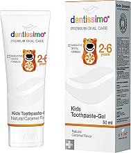 Parfémy, Parfumerie, kosmetika Zubní pasta pro děti - Dentissimo Kids Toothpaste Caramel