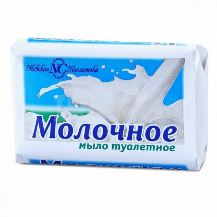 Toaletní mýdlo Mléčné - Neva Cosmetics — foto N1