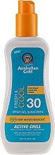 Parfémy, Parfumerie, kosmetika Sprej na opalování - Australian Gold Sunscreen Spf 30 X-Treme Sport Spray Gel Active