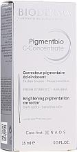 Parfémy, Parfumerie, kosmetika Sérum na obličej - Bioderma Pigmentbio C Concentrate Brightening Pigmentation Corrector