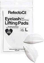 Parfémy, Parfumerie, kosmetika Silikonové polštářky pro lifting řas - RefectoCil Eyelash Lifting Pads L