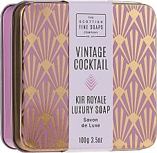 Parfémy, Parfumerie, kosmetika Mýdlo na ruce a tělo - The Scottish Fine Soaps Company Vintage Cocktail Kir Royale Luxury Soap
