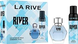 Parfémy, Parfumerie, kosmetika La Rive River Of Love - Sada (edp/100ml + deo/150ml)