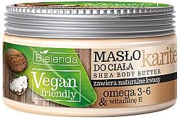 """Parfémy, Parfumerie, kosmetika Tělový olej """"Karite"""" - Bielenda Vegan Friendly Shea Body Butter"""