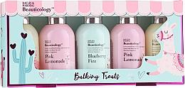 Parfémy, Parfumerie, kosmetika Sada - Baylis & Harding Beauticology Bathing Treats (h/cr/100ml + sh/gel/100ml + b/lot/100ml + soap/100ml + sh/cr/100ml)