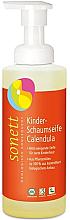 Parfémy, Parfumerie, kosmetika BIO dětská mýdlová pěna Calendula - Sonett Kinder Schaumseife Calendula