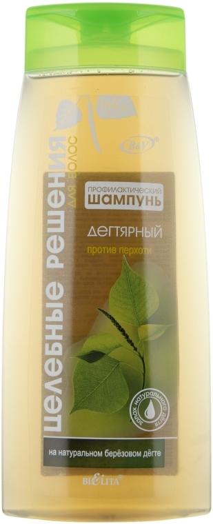 Dehtový šampon proti lupům - Bielita Anti-Dandruff Shampoo