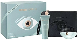 Parfémy, Parfumerie, kosmetika Kenzo World Kenzo - Sada (edp/75ml + b/lot/75ml + bag)