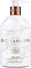 Parfémy, Parfumerie, kosmetika Tekuté mýdlo na ruce - Baylis & Harding White Tea & Vitamin E Hand Wash
