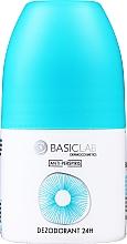 Parfémy, Parfumerie, kosmetika Kuličkový deodorant antiperspirant 24 h - BasicLab Dermocosmetics Anti-Perspiris