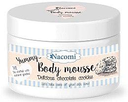 """Parfémy, Parfumerie, kosmetika Tělová pěna """"Čokoládové sušenky"""" - Nacomi Body Mousse"""