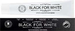 Parfémy, Parfumerie, kosmetika Zubní pasta s aktivním uhlím - Biomika Black For White Teeth Paste