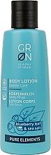 Parfémy, Parfumerie, kosmetika Tělový lotion Borůvka - GRN Pure Elements Blueberry & Sea Salt Body Lotion