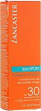 Parfémy, Parfumerie, kosmetika Voděodolný matující gel na obličej - Lancaster Sun Sport Invisible Face Gel SPF30