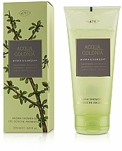 Parfémy, Parfumerie, kosmetika Maurer & Wirtz 4711 Acqua Colonia Myrrh & Kumquat - Sprchový gel