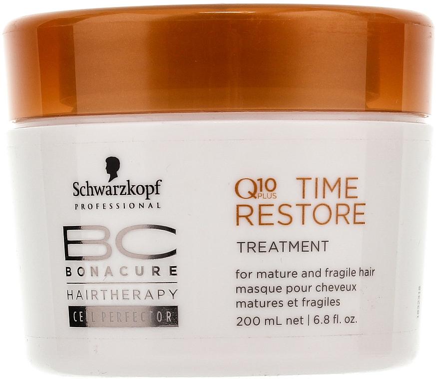 Maska na vlasy Q10 - Schwarzkopf Professional BC Bonacure Time Restore Q10 Plus Treatment  — foto N1