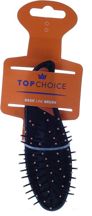Kartáč na vlasy malý, 2007, žlutý - Top Choice — foto N1