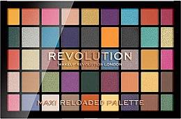 Parfémy, Parfumerie, kosmetika Paleta očních stínů, 45 odstínů - Makeup Revolution Maxi Reloaded Palette
