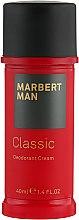 Parfémy, Parfumerie, kosmetika Deodorant-krém - Marbert Man Classic Deodorant Cream
