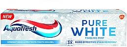 Parfémy, Parfumerie, kosmetika Zubní pasta s bělícím účinkem Máta - Aquafresh Pure White Tingling Mint