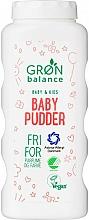 Parfémy, Parfumerie, kosmetika Dětský pudr - Gron Balance Baby & Kids Baby Pudder