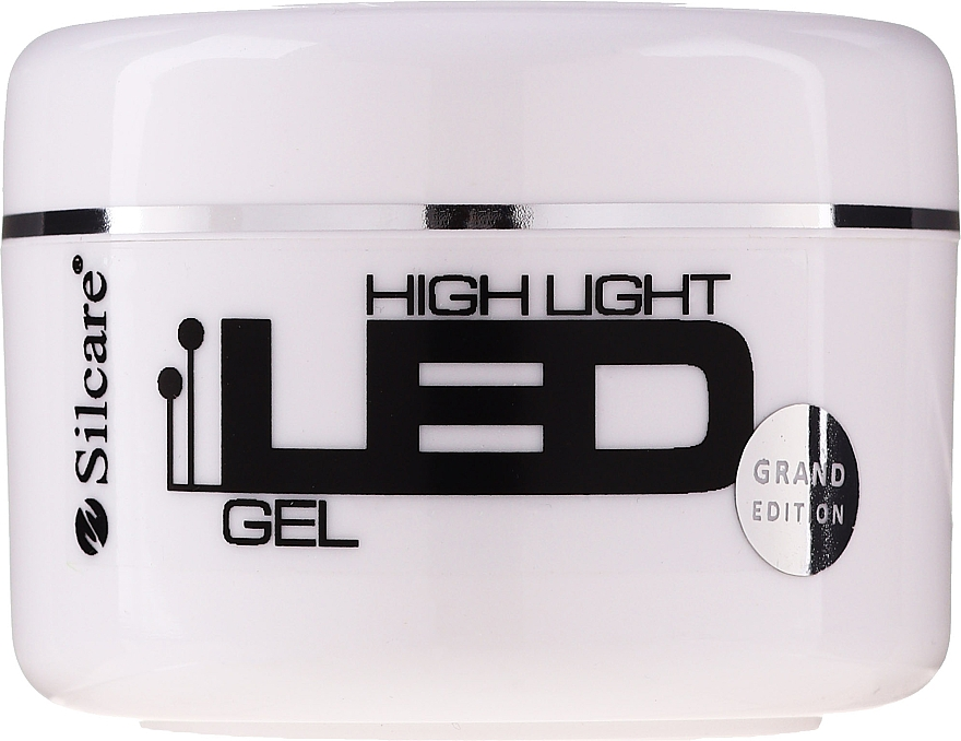 Gel na prodloužení nehtů - Silcare High Light LED Pink
