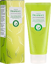 Parfémy, Parfumerie, kosmetika Peeling na základě zeleného čaje - Deoproce Premium Green Tea Peeling Vegetal