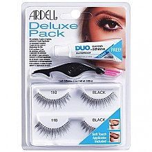 Parfémy, Parfumerie, kosmetika Sada umělých řas - Ardell Deluxe Pack 110 Black