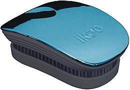 Parfémy, Parfumerie, kosmetika Kartáč na vlasy - Ikoo Pocket Pacific Metallic Black