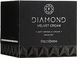 Parfémy, Parfumerie, kosmetika Hydratační krém na obličej - Frezyderm Diamond Velvet Anti-Wrinkle Cream For Ripe Skin