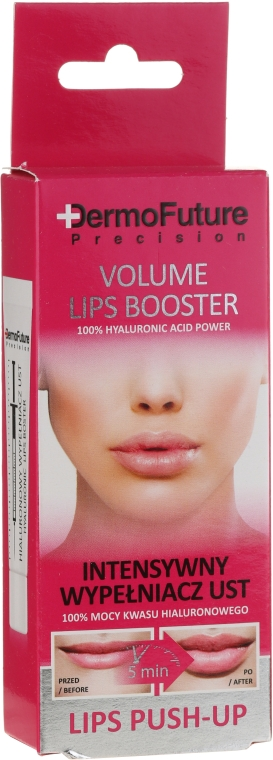 Intenzivní hyaluronic maximizer na rty - DermoFuture Volume Lips Booster