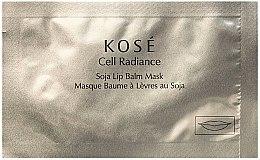 Parfémy, Parfumerie, kosmetika Balzám-maska na rty - Kose Cell Radiance Soja Lip Balm Mask