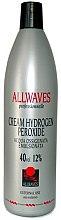 Parfémy, Parfumerie, kosmetika Krémové oxidační činidlo - Allwaves Cream Hydrogen Peroxide 12%
