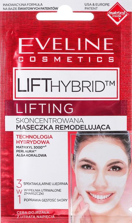 Maska proti vráskám 3 v 1 - Eveline Cosmetics Lift Hybrid Lifting Concentrated Remodeling Mask