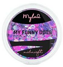 Parfémy, Parfumerie, kosmetika Třpytky pro nehtový design - MylaQ My Funny Dots