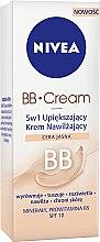 Parfémy, Parfumerie, kosmetika Zkrášlující hydratační krém 5 v 1 - Nivea Visage BB Cream SPF 10