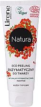 Parfémy, Parfumerie, kosmetika Enzymatický eko peeling na obličej - Lirene Natura Eco Peeling