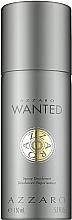 Parfémy, Parfumerie, kosmetika Azzaro Wanted - Deodorant ve spreji
