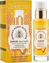 Parfémy, Parfumerie, kosmetika Výživné sérum na obličej - Bielenda Manuka Honey Nutri Elixir Serum