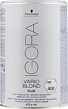 Parfémy, Parfumerie, kosmetika Zesvětlující prášek - Schwarzkopf Professional Igora Vario Blond Plus