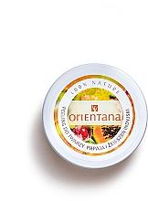 """Parfémy, Parfumerie, kosmetika Krémový peeling na obličej """"Papája"""" - Orientana Natural Cream Face Scrub Papaya"""