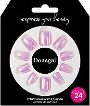 Parfémy, Parfumerie, kosmetika Sada umělých nehtů s lepidlem, 3052 - Donegal Express Your Beauty