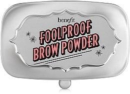 Parfémy, Parfumerie, kosmetika Pudr na obočí - Benefit Foolproof Brow Powder